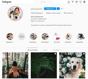 Блоги в Instagram